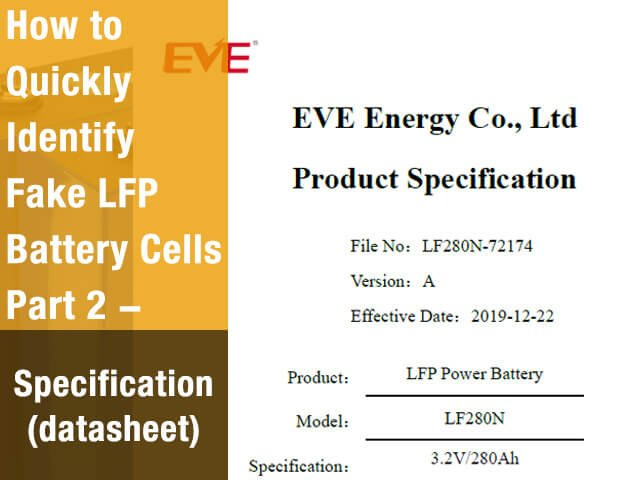 How-to-Quickly-Identify-Fake-Batteries-Part-2-Specification(datasheet)